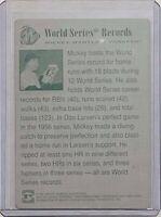 1/1 MICKEY MANTLE 1997 SCORE BOARD CARD #11 PRINTING PLATE NY YANKEES HOF 1 OF 1