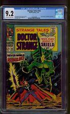 Strange Tales #162 (1967) CGC Graded 9.2 ~ Captain America ~ Jim Steranko Art