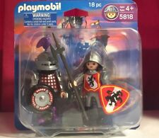 Playmobil 5818 Sir Polka Dot & Castle Guard Knight NISP Sealed Retired HTF Rare
