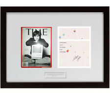 Rare Only Signed Steve Jobs Psa Authentic Auto in the World Apple Certificate