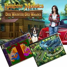 ⭐️ Rainbow Mosaics 3 - Der Wächter des Waldes - PC / Windows ⭐️