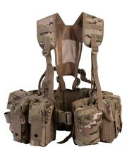 Special Forces Airborne Webbing BTP/Multicam/ MTP Style Camo INFANTRY ARMY PAR