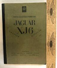 Werkstatthandbuch, Jaguar XJ6 2.8 & 4.2, Serie 1, Deutsch, sehr gute Kopie