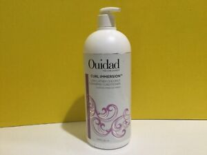 Ouidad Curl Immersion Low Lather Coconut. Cleansing Conditioner 33.8.fl As Pics