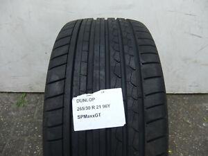 1 Sommerreifen Dunlop SportMaxx GT 265/30ZR21 (96Y) Neu!