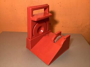 Vintage Ideal Evel Knievel Red Stunt Cycle Launcher Energizer Gyro Charger 1973