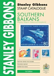 Sothern Balkans Stamp Catalogue by Stanley Gibbons - 1st Edition - SAVE 10% OFF