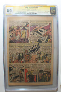Tales To Astonish #35 2nd / 3&4Pg CGC Signed STAN LEE 1st costume ORIGIN Ant-Man