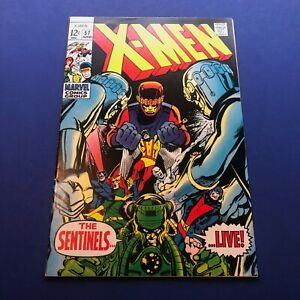 X-Men # 57 (1969) VF 8.0 Signed by Stan Lee & Roy Thomas
