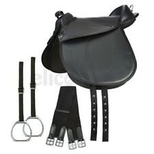 ELICO SYNTHETIC CUB SADDLE WITH IRONS, NYLON STIRRUP STRAPS AND GIRTH
