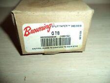 BROWNING G 7/8 SPLIT TAPER BUSHING NEW IN BOX FREE SHIPPING