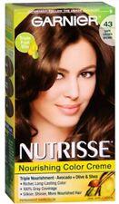 Garnier Nutrisse 43 Dark Golden Brown Nourishing Color Creme 1 application