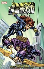 Marvel Comics Hawkeye & Thunderbolts Trade Paperback Tpb Black Widow Moonstone