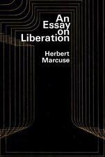 An Essay on Liberation Marcuse, Herbert Paperback