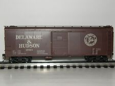 DELAWARE & HUDSON #19924  O SCALE ALL BRASS  40' SINGLE DOOR BOX CAR  2 Rail