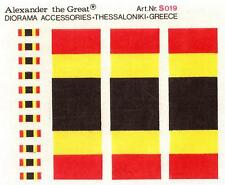 Alexander the Great 1/35 Diorama Accessories German Tri Color Decal Flags # S019
