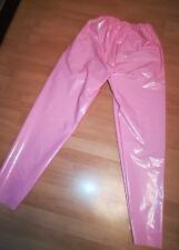 Adult Baby SISSY GUMMIHOSE PVC Hose LACK Sporthose Gummi Unisex PLASTIK TROUSERS