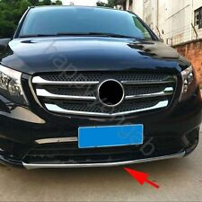 Front Fender Guard Cover Trim for 2016-2017 Mercedes-Benz Vito Protector Chrome