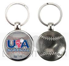 USA BASEBALL KEYRING-KEYCHAIN-PORTACHIAVI-PORTA-CLES-LLAVERO AMERICANO