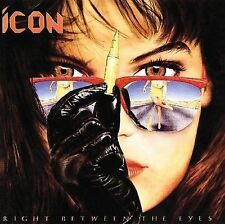ICON - Right Between the Eyes - Used CD 1980's Heavy Metal Band