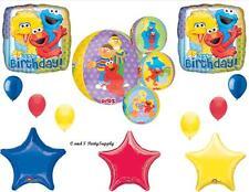 SESAME STREET ORBZ HAPPY BIRTHDAY PARTY BALLOONS Decorations Supplies Big Bird