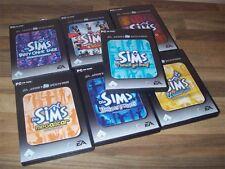 Die Sims PC HAUPTSPIEL und alle Addons Sammlung in 1 Auktion viele Spiele TOP