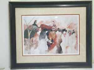 Zule Moskowitz Limited Hand Signed & Numbered Lithograph - Paris Street Scene