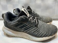 ADIDAS AlphaBounce Sneakers Men's Shoes Size 11 Gray Black B42860