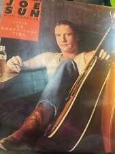 Joe Sun Livin' on Honky Tonk Time 1980 Ovation Records -- Sealed LP