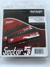 Patriot Memory PC3-12800 4 GB DIMM 1600 MHz DDR3 Memory (PGV34G1600ELK)