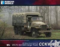 WW2-1ST CLASS POST RU026 RUBICON 28MM ALLIED CARGO TRUCKS US6 U3//U4-1//56