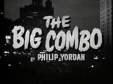 Film Noir: THE BIG COMBO, 1955, Cornel Wilde, Joseph H Lewis: DVD-R  Region 2