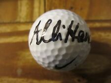 Allison Hanna Golfer Autographed Signed Nike Golf Ball LPGA Tour