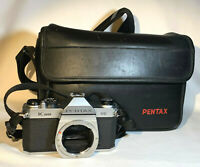 *Parts/Repair* Asahi Pentax K1000 SE SLR Film Camera Body Only w/Bag, Strap