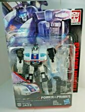 TRANSFORMERS Generations JAZZ Sports car Combiner Wars Power of the Primes MIB!