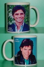 JOHN STAMOS - with 2 Photos - Designer Collectible GIFT Mug 02