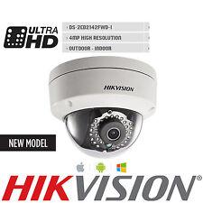 Hikvision DS-2CD2142FWD-I English Version IP Camera 4MP POE IP66 CCTV SD 4mm