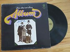 PETER (Yarrow), PAUL and MARY signed ALBUM 1966 Record / Album COA