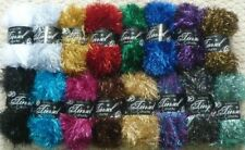 King Cole Wool Tinsel Crocheting & Knitting Yarns