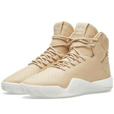 Adidas Tubular Instinct Boost Nude Tan PREMIUM Leather 8UK 8.5US 42EU BB8400 NEW