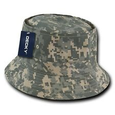Uni Digital ACU Camo Fishermans Fishing Sun Bucket Safari Hiking Boonie Hat L/XL