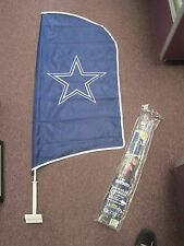 NFL DALLAS COWBOYS TAILGATE FLAG KIT ~ NEW ~ STORE STOCK ~ SHOW YOUR TEAM SPIRIT