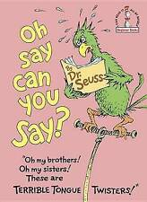 Oh, Say Can You Say? (Beginner Books(R))-ExLibrary