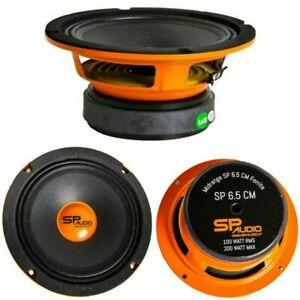 "SP AUDIO SP6.5CM altoparlante nero 200 watt max 165 mm 16,50 cm 6,5"" spl car!!"