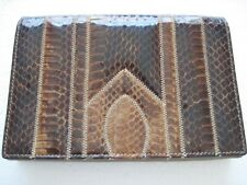 Genuine leather handbag by Reem, crossbody,shoulder purse, clutch, snakeskin