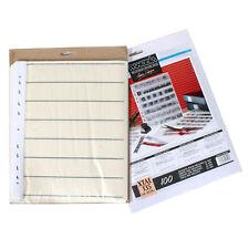100 x Panodia Pergamin Storage Sheets XTAL 135 Sleeves 35mm Film 6 Cut 7 Strip i