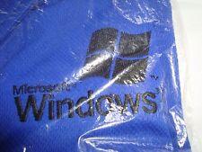 Microsoft Windows XP 2001 Boardroom Drytech size XL SHIRT NEW promo tech zip