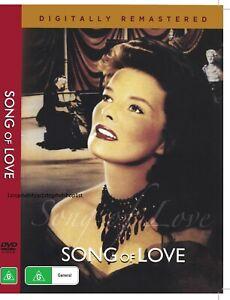 Song of Love DVD 1947 Katharine Hepburn New and Sealed Australia