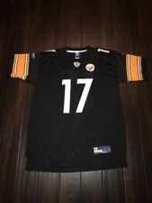 MIKE WALLACE # 17 Pittsburgh Steelers Authentic players Jersey size 48 used