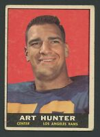 1961 Topps #53 Art Hunter VG/VGEX  C000016751A